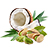 pistácie - kokos
