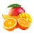 pomeranč - mango