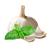 česnek - bazalka