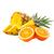pomeranč - ananas