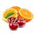 pomeranč - třešeň