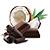 čokoláda s kokosem