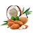 mandle - kokos