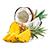 ananas s kokosem