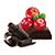 čokoláda - brusinka