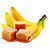 banán - karamel