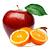 pomeranč - jablko