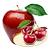 jablko - třešeň