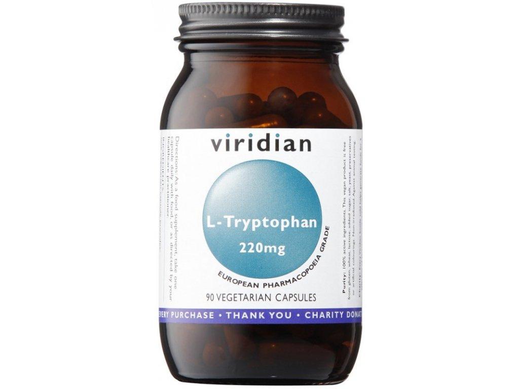 Viridian L-Tryptophan 220mg 90kapslí