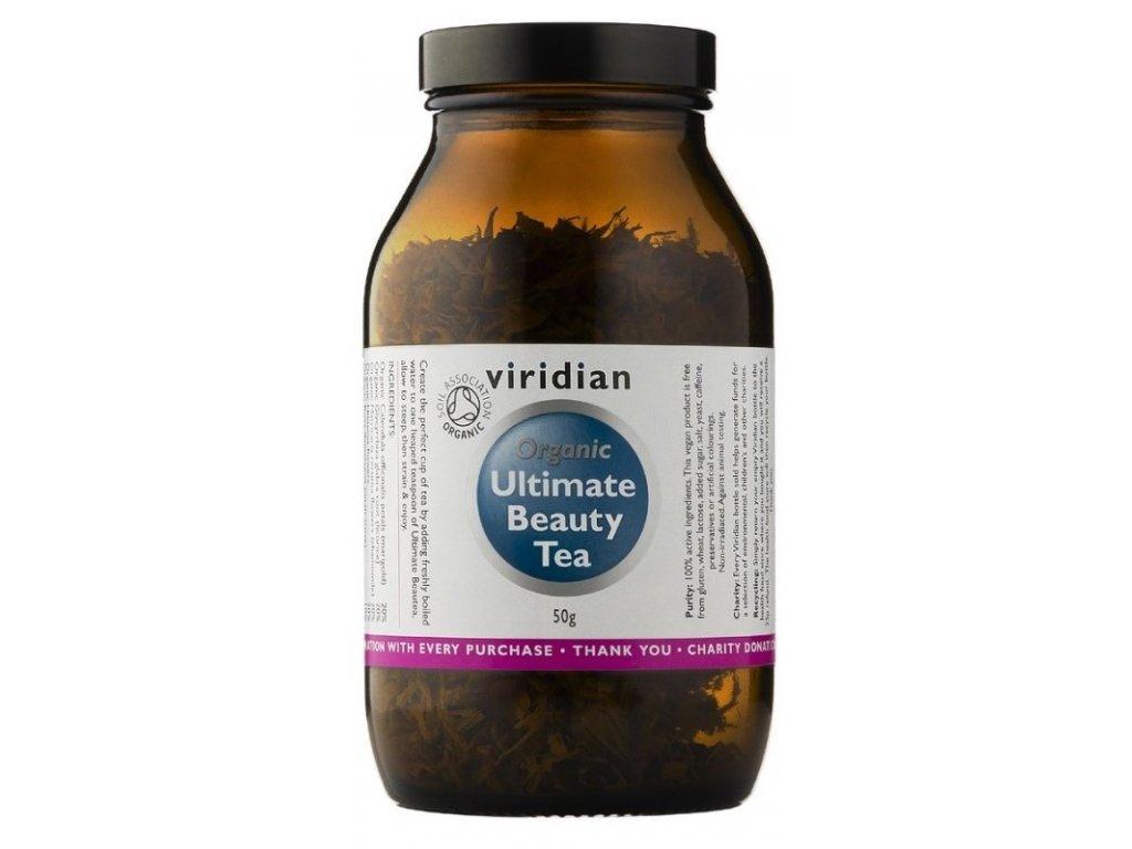 Viridian Organic Beauty Tea (Čaj pro péči o vzhled) 50g