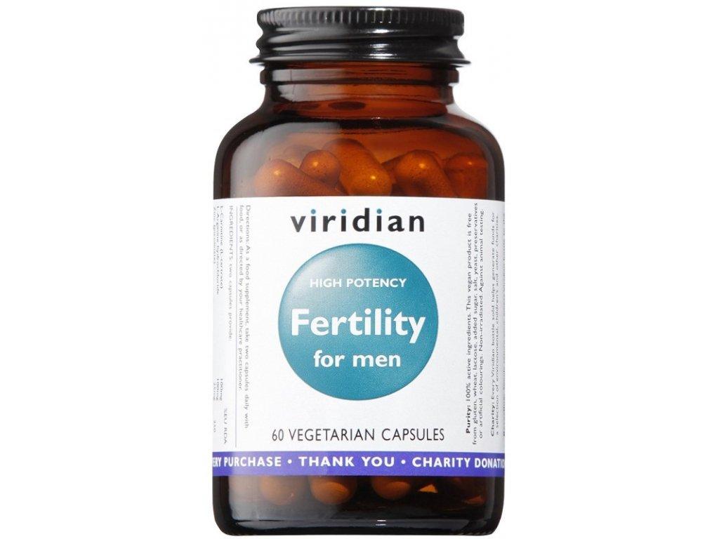 Viridian Fertility for Men (Mužská plodnost) 60kapslí