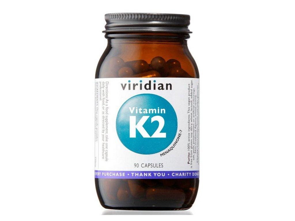 Viridian Vitamin K2 90kapslí