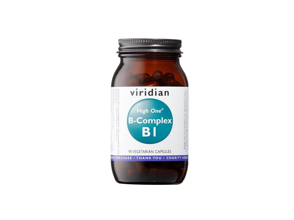 Viridian B-Complex B1 High One 90 kapslí