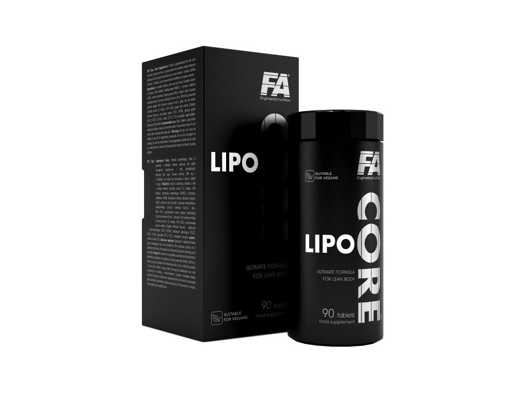 Fitness Authority Lipo Core 90 kapslí