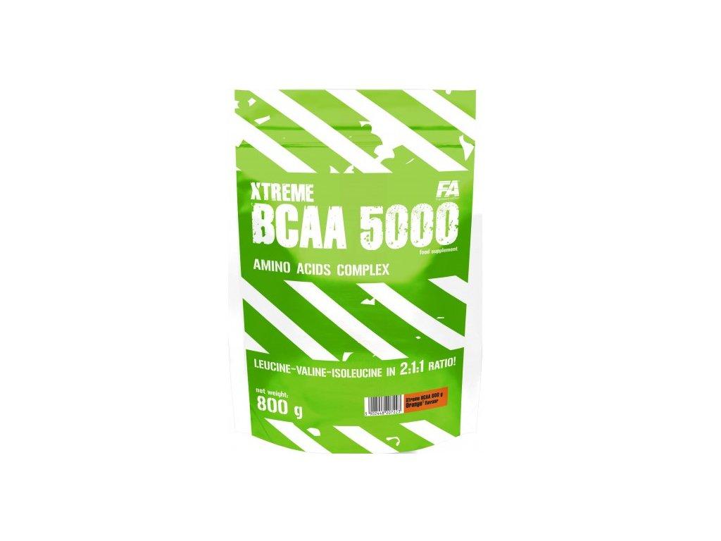 Fitness Authority Xtreme BCAA 5000 800g (Varianta ananas)