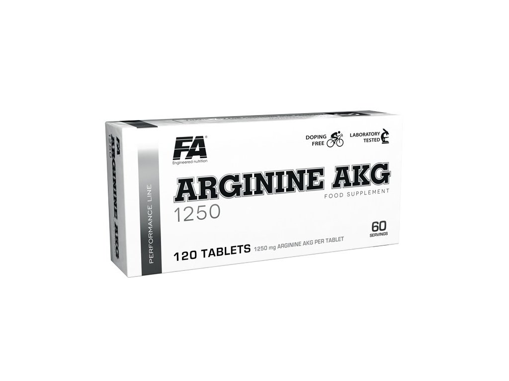 Fitness Authority Arginine AKG 1250 120 tablet