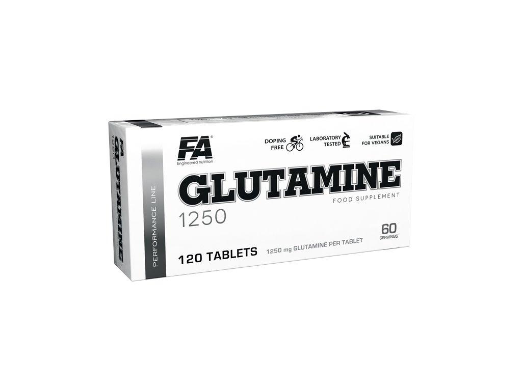 Fitness Authority Glutamine 1250 120tablet