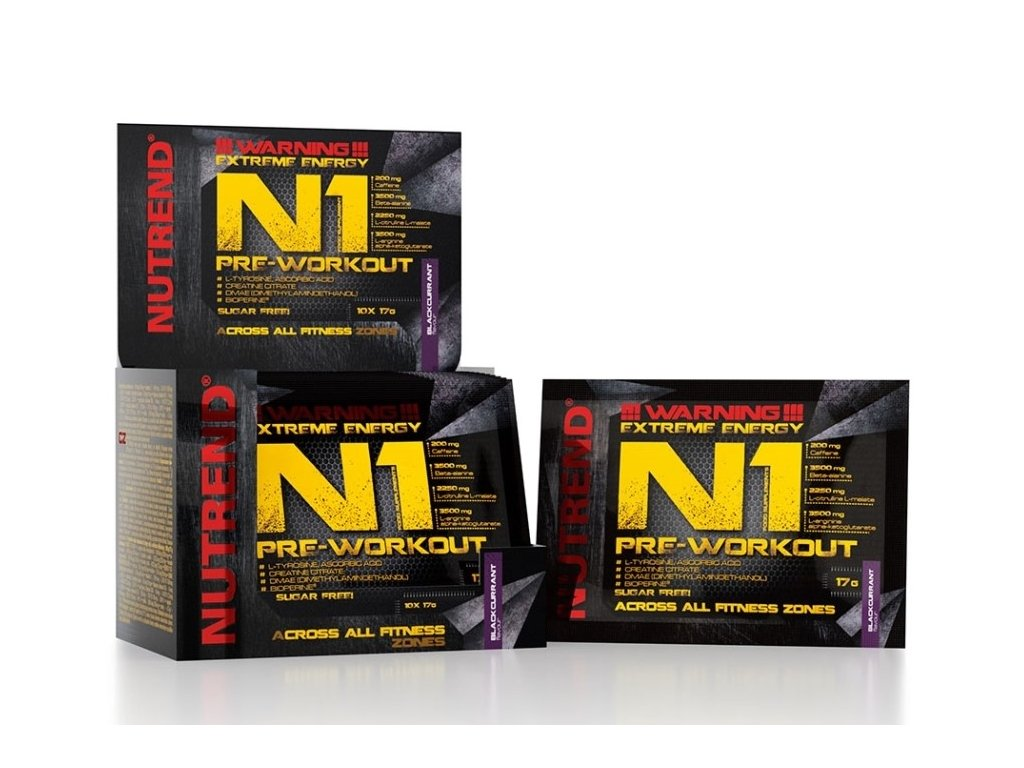 Nutrend N1 Pre-Workout 17g