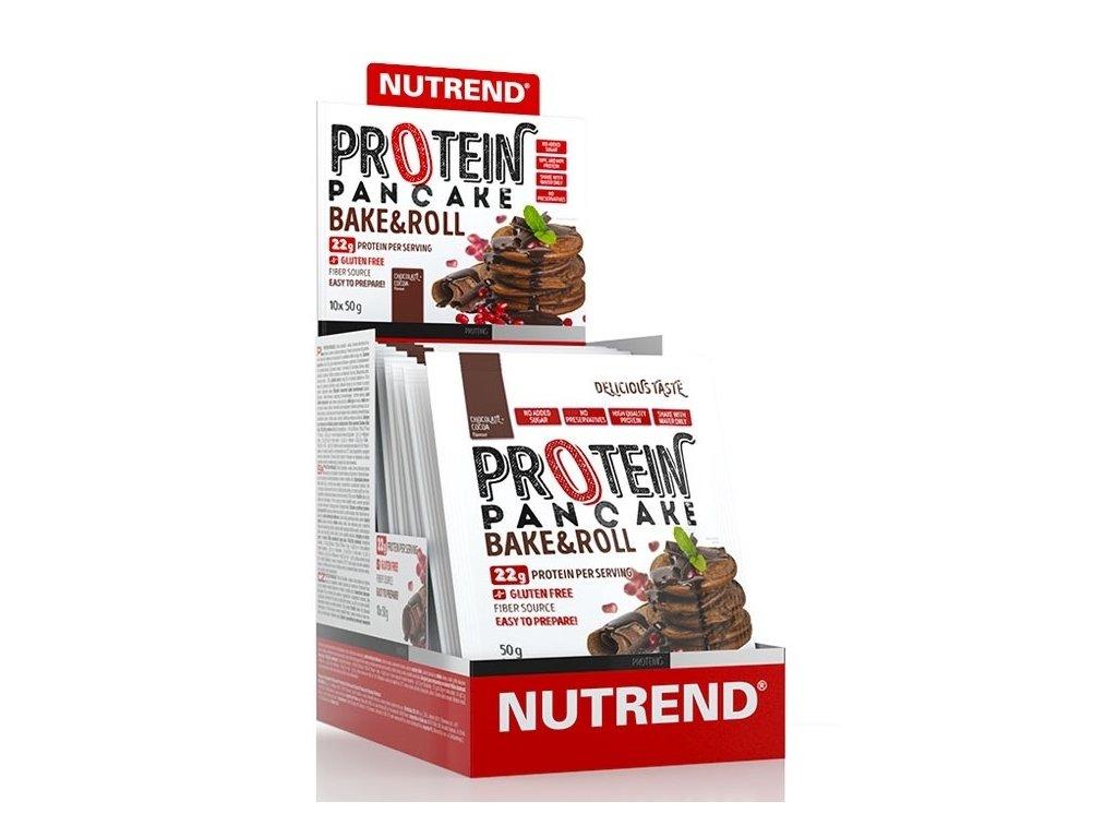 Nutrend Protein Pancake 10×50g