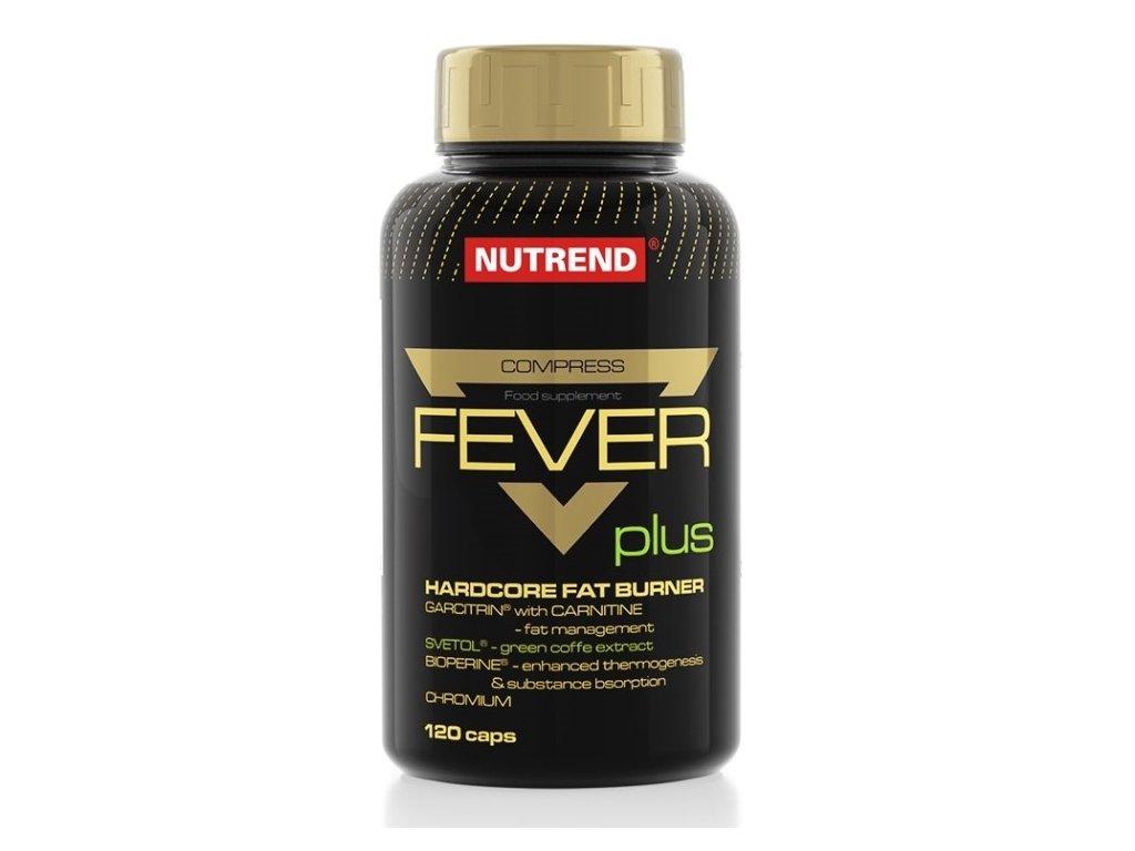 Nutrend Compress Fever Plus 120kapslí