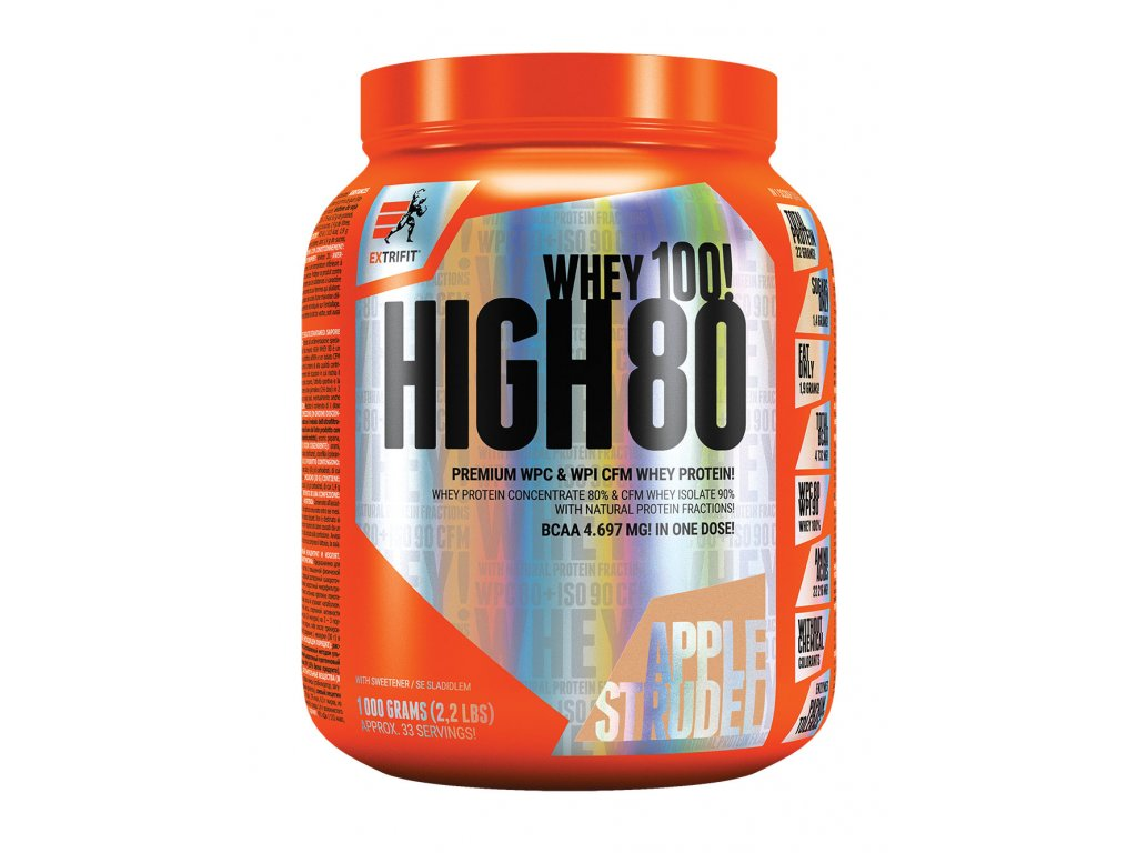 Extrifit High Whey 80 1000g