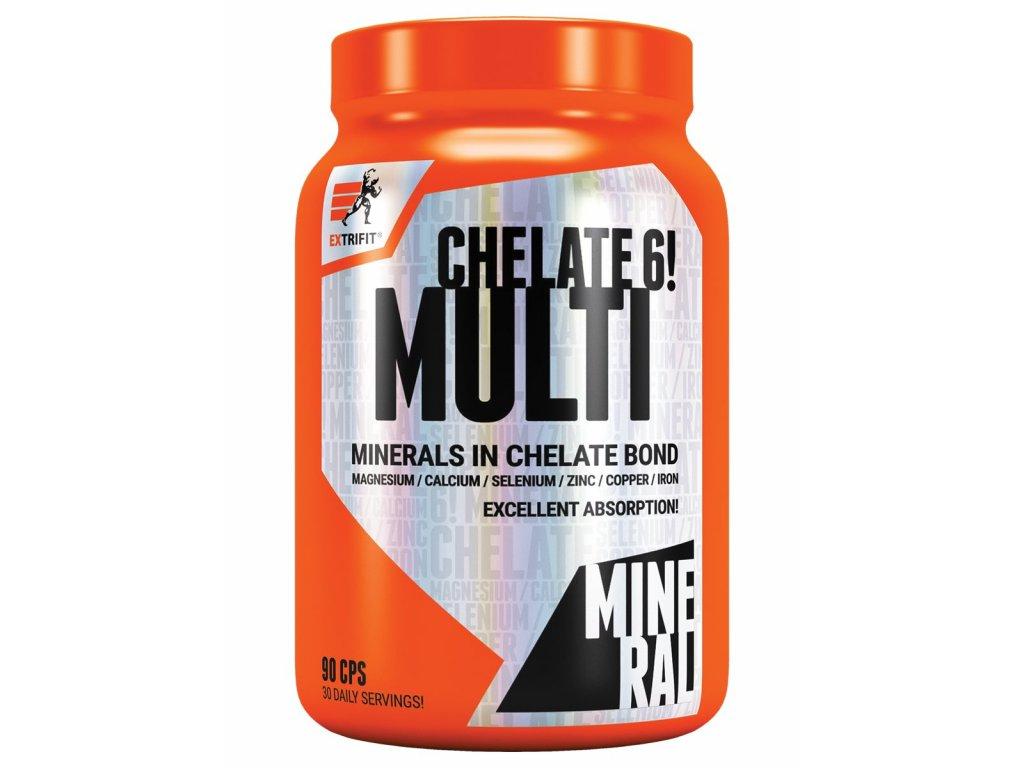 Extrifit Chelate 6! Multimineral 90 kapslí