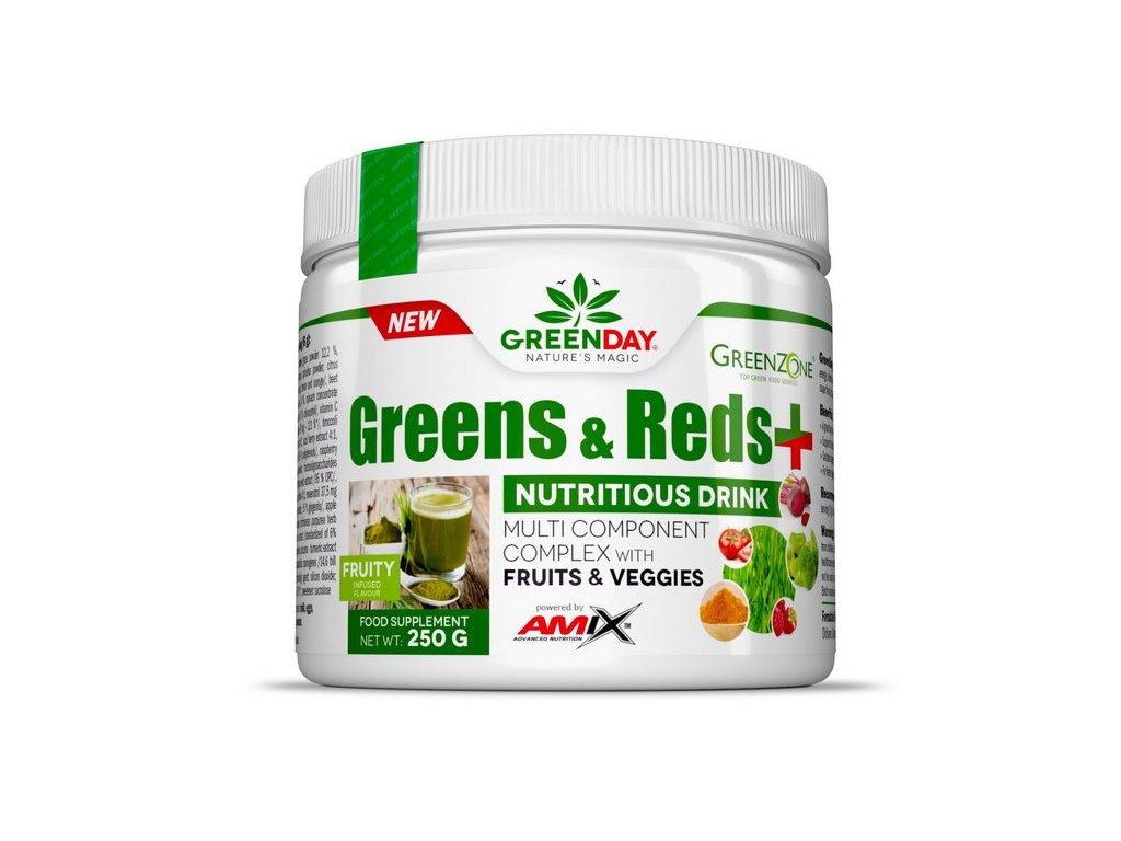 Amix Greens & Reds + 250g