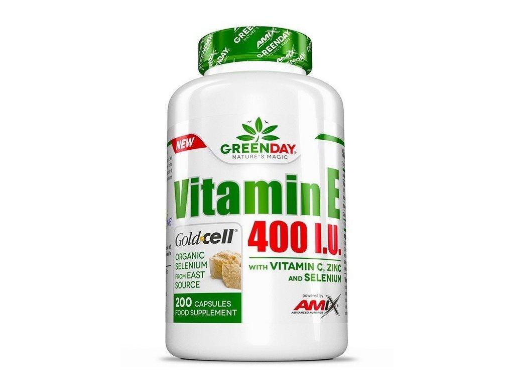 Amix Vitamin E 400 I.U. 200kapslí