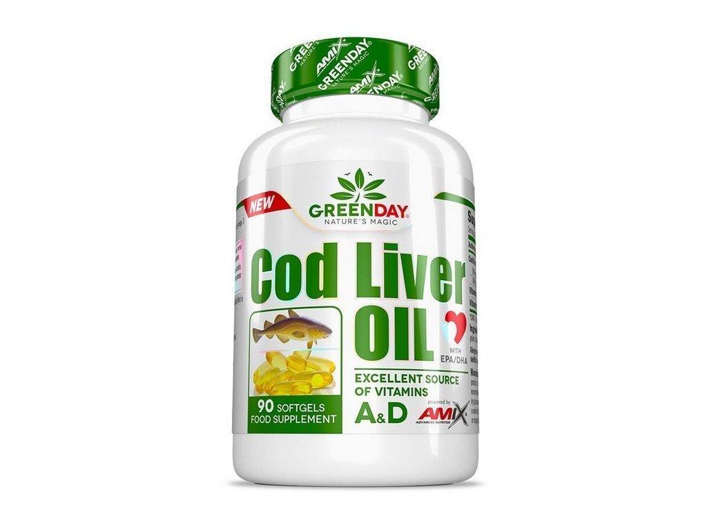Amix Cod Liver Oil 90kapslí