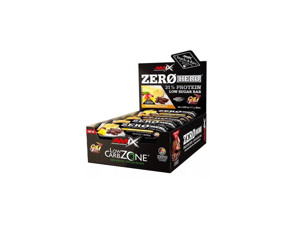 Amix Zero Hero 31% Protein Bar 15×65g