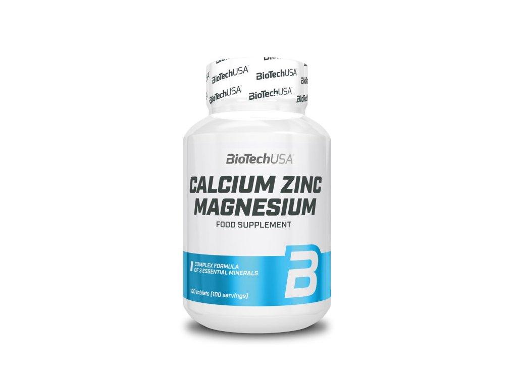 BioTech Calcium Zinc Magnesium 100tablet