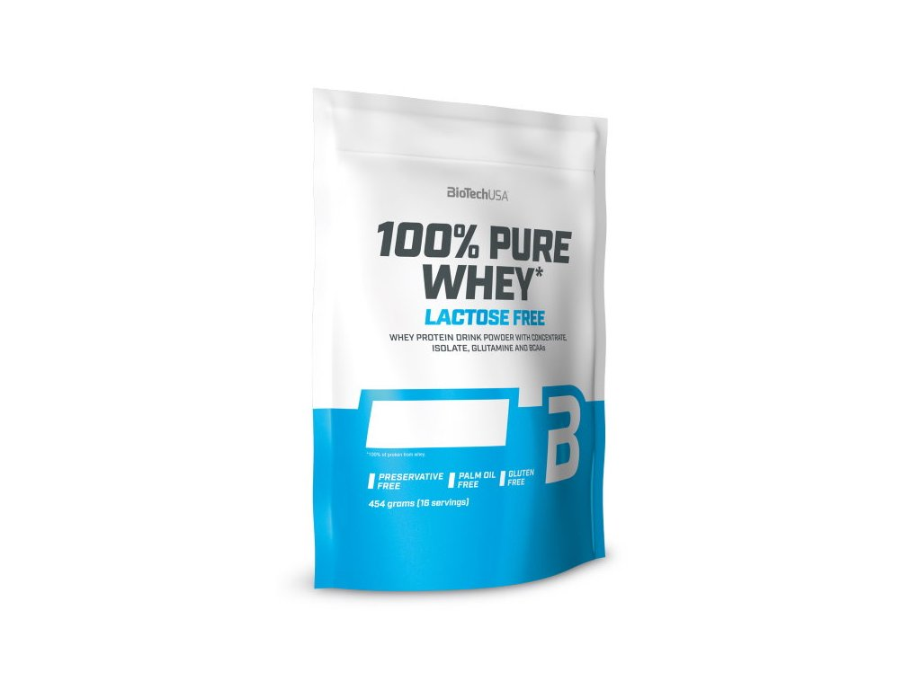 BioTech 100% Pure Whey Lactose Free 454g