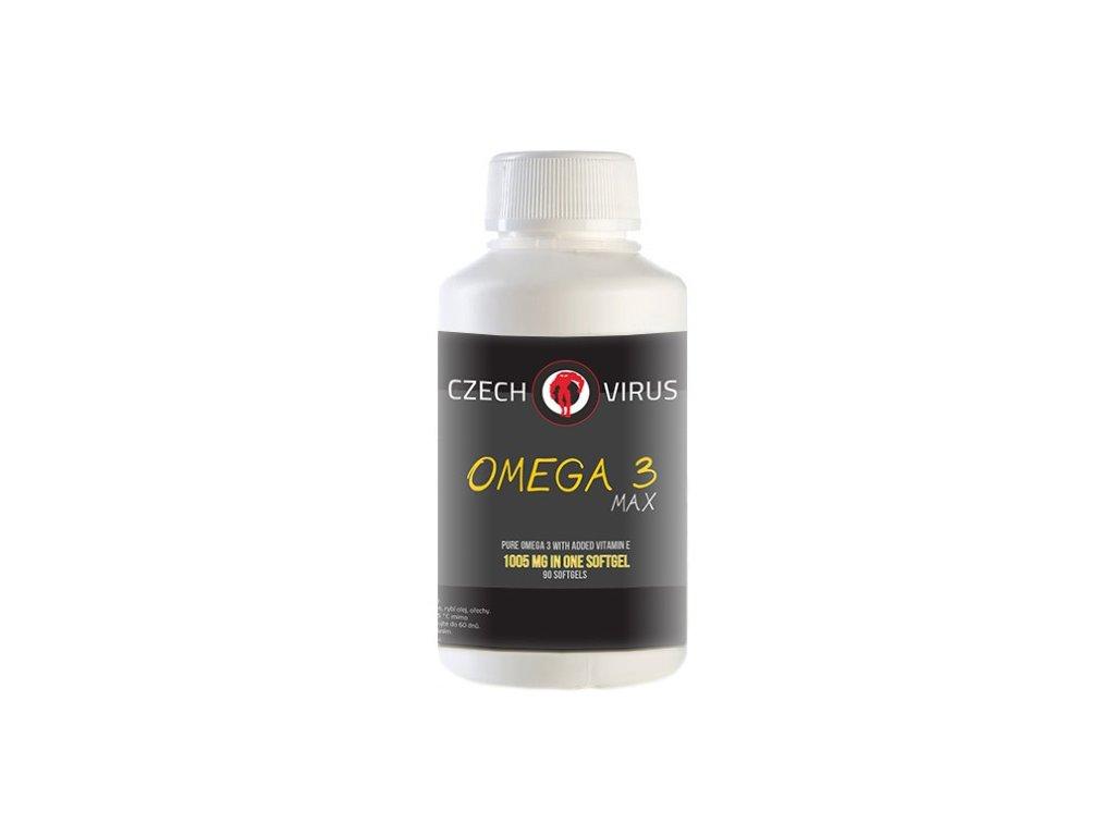 Czech Virus Omega 3 MAX 90kapslí