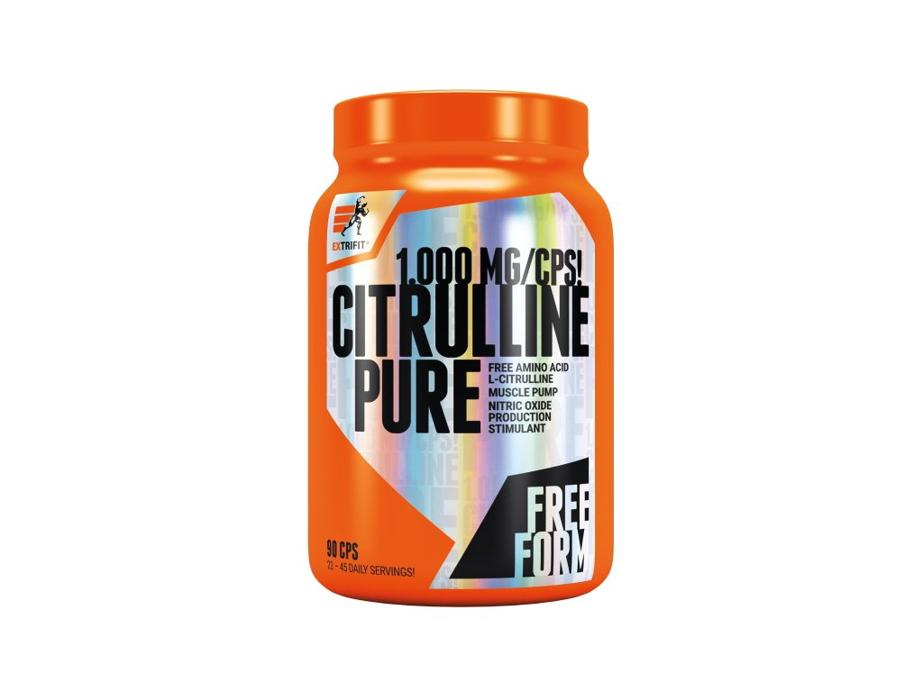 Extrifit Citrulline Pure 1000 mg 90kapslí