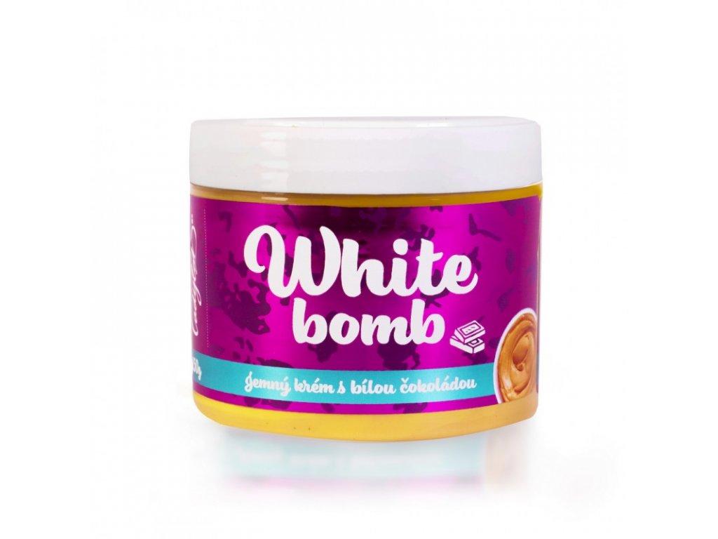 Ladylab White Bomb arašídový krém s bílou čokoládou 250g
