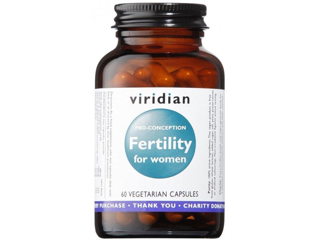 14120 viridian fertility for women zenska plodnost 60 kapsli