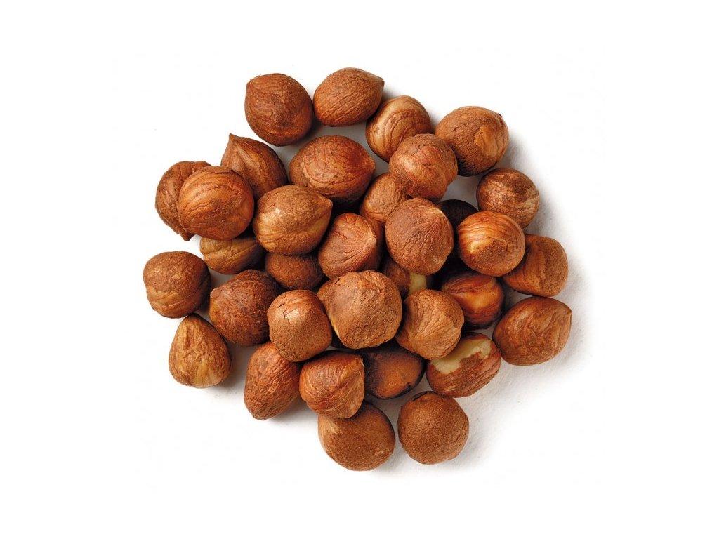 LifeLike Lískové ořechy sypané natural 250 g