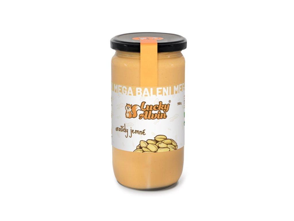 Lucky Alvin Arašídové máslo neochucené 750g