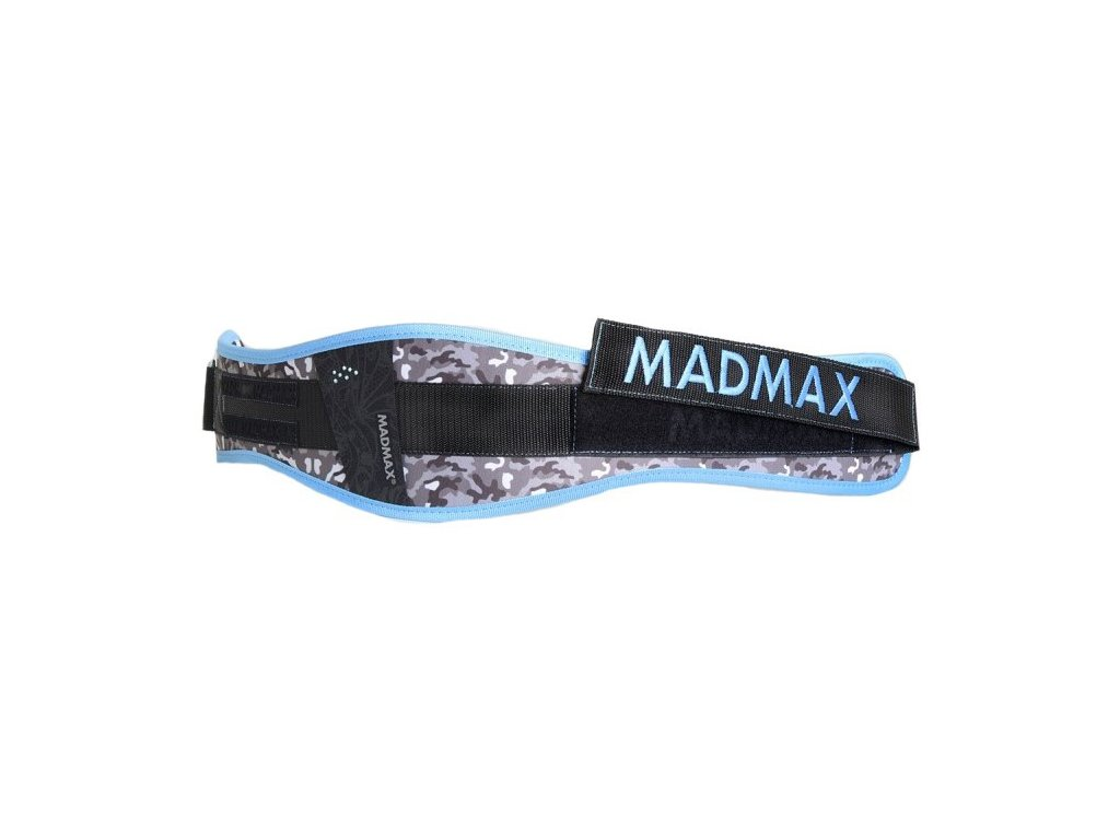 MadMax Dámský fitness opasek WMN Swarovski MFB314 modrý