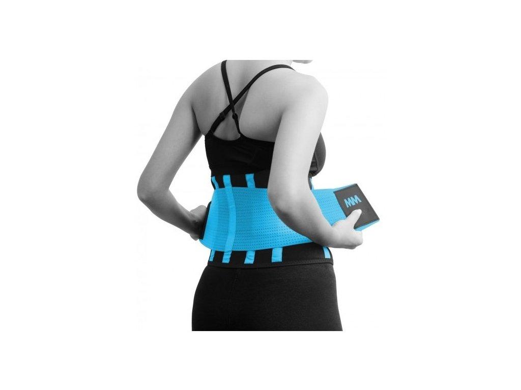 MadMax Slimming Belt MFA277 modrý