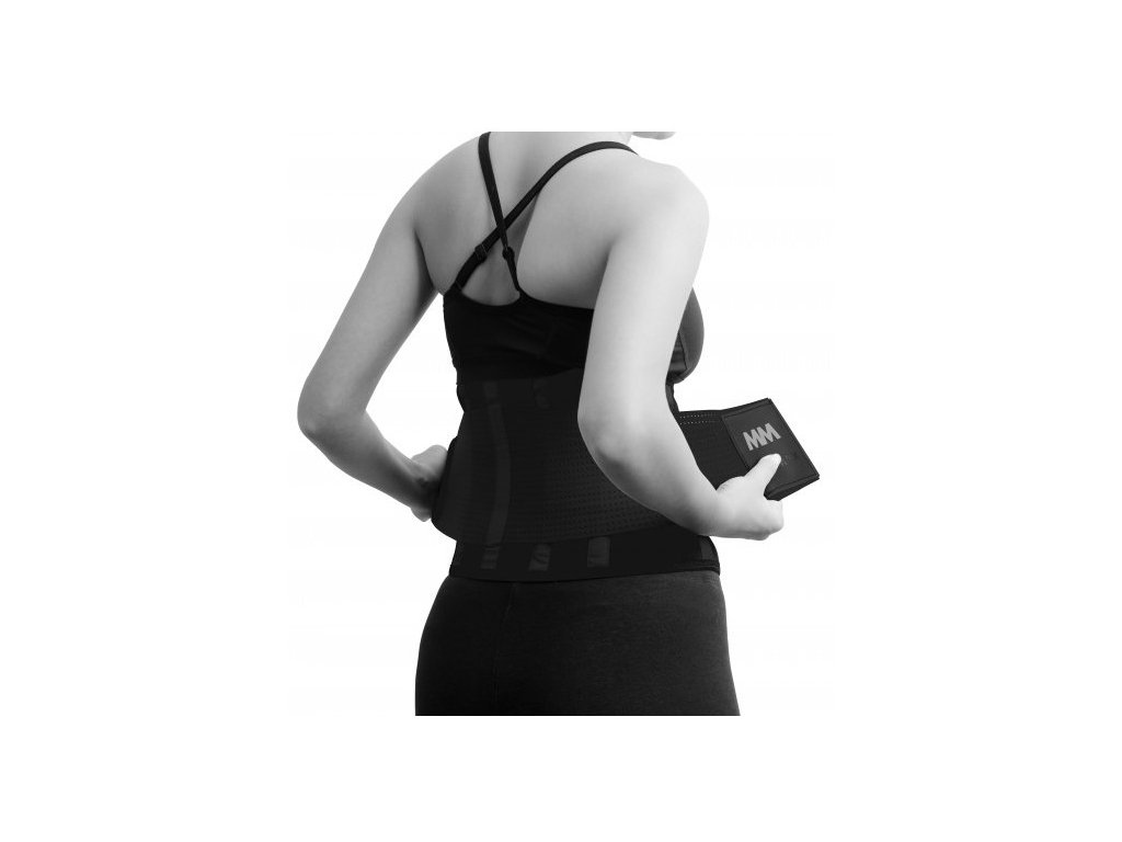 MadMax Slimming Belt MFA277 černý