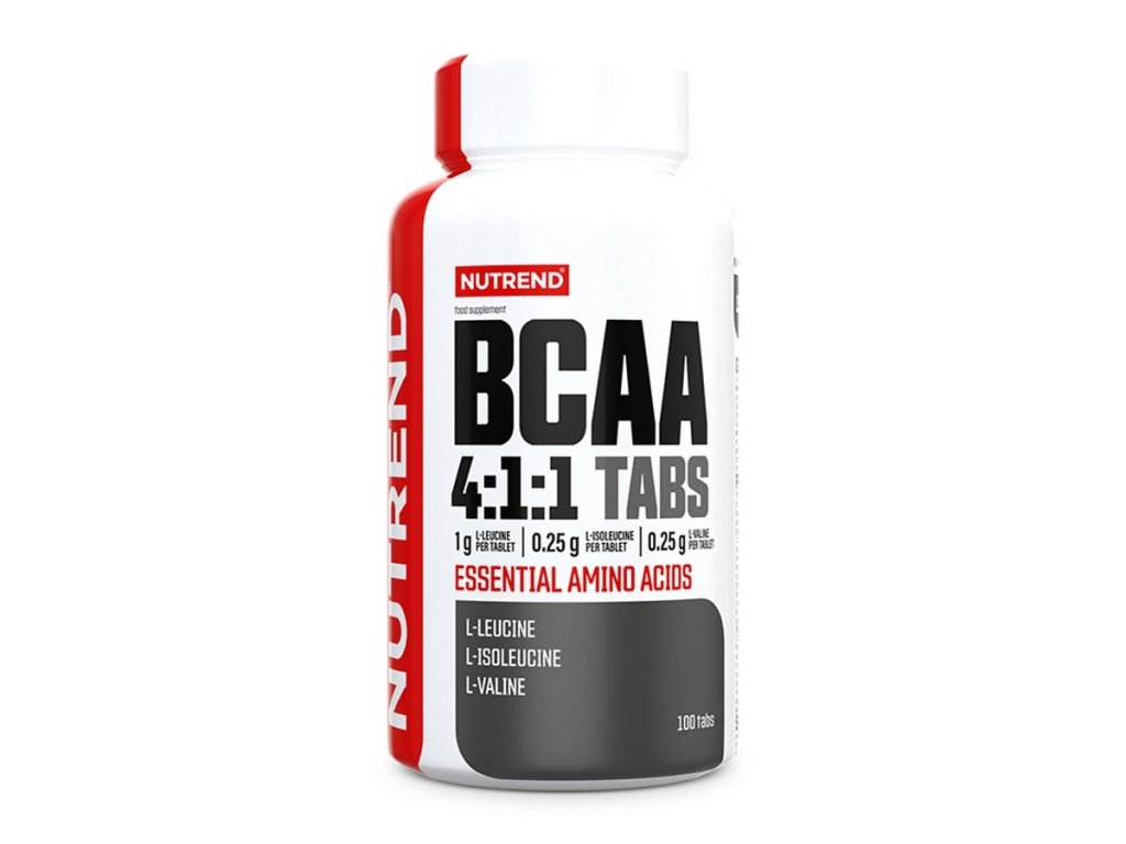 8831 nutrend bcaa 4 1 1 100 tablet