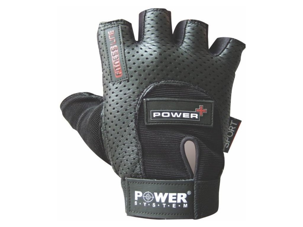 Power System fitness rukavice Power Plus černé
