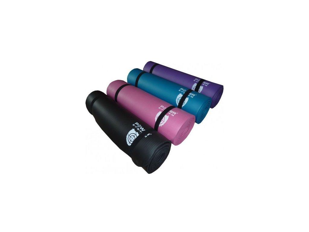 Power System podložka na cvičení Yoga Mat Plus