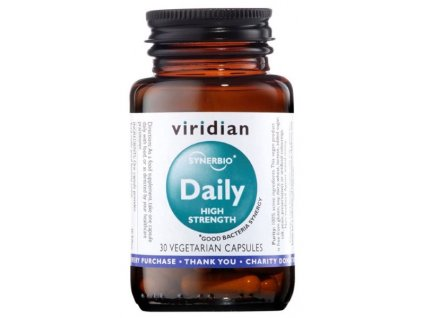 Viridian Synerbio Daily High Strength (Směs probiotik a prebiotik) 30kapslí