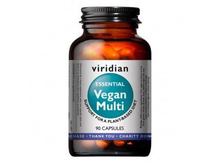 Viridian Vegan Multi (Multivitamín pro vegany) 90kapslí