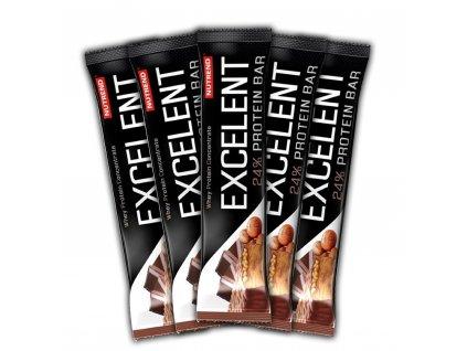 Nutrend Excelent Protein Bar v balení 5x85 g
