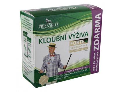 Priessnitz Kloubní výživa Forte Glukosamin + Kolagen 180+90kapslí