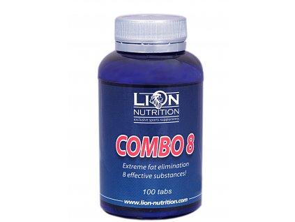 Lion Nutrition, Combo 8, 100 kapslí