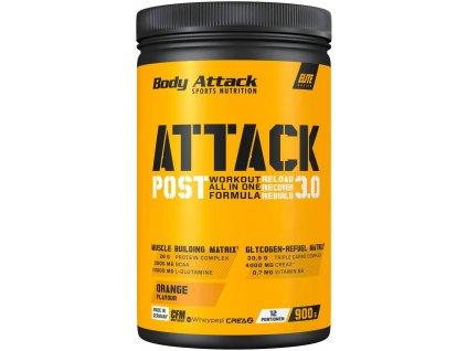 Body Attack Post Attack Workout All In One Formula 900g, univerzální potréninková směs, Exotic Fruit